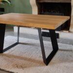 Pieds de table en acier